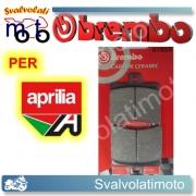 PASTIGLIE FRENO POSTERIORI BREMBO CARBON CERAMIC APRILIA SPORTCITY 300 CUBE DAL 2008