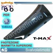 PROTEZIONE SCARICO CARBOON LOOK PER T-MAX 2008-12