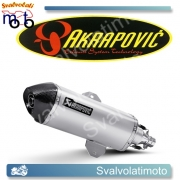 SCARICO AKRAPOVIC  S-PI3SO6-HRSS SLIP ON (TITANIO) PER APRILIA SPORTCITY CUBE 09-14