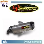 SCARICO AKRAPOVIC  S-A8SO1-HWSS SLIP ON (TITANIO) PER APRILIA SRV 850 12-14