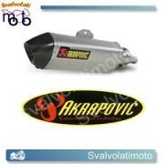 SCARICO AKRAPOVIC  S-H3SO2-HRSS SLIP ON (TITANIO) PER HONDA SH 300 i 07-14