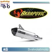 SCARICO AKRAPOVIC  S-VESO4-HSS SLIP ON (TITANIO) PER VESPA GTV 300