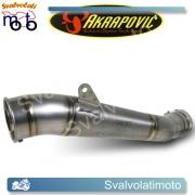 SCARICO AKRAPOVIC SM-H6SO7T LINEA MEGAPHONE (TITANIO) PER HONDA CB 600 F HORNET 07-13