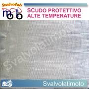 SCUDO PROTETTIVO  ALTE TEMPERATURE ADESIVO 25 X 20 cm