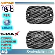 TAPPI VASCHETTA OLIO COLORE CARBON LOOK T-MAX 500 DAL 2008 AL 2011