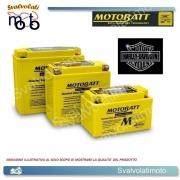 BATTERIA MOTOBATT TECNOLOGIA AGM BQ026 21ah PER H.DAVIDSON 1340 FLSTF FAT BOY 1991 > 1999