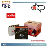 BATTERIA ONE CBTX12-BS ACIDO PREDOSATO A CORREDO  PER APRILIA Atlantic Sprint 400 05-07