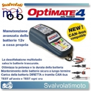 CARICA BATTERIA MOTO AUTO OPTIMATE 4 CAN-bus QUAD
