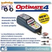 CARICA BATTERIA MOTO AUTO OPTIMATE 4 CAN-bus QUAD