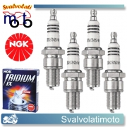KIT 4 CANDELE IRIDIUM NGK BR8EIX